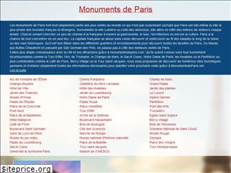 monumentsdeparis.net