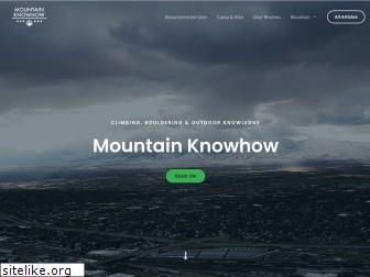 mountainknowhow.com