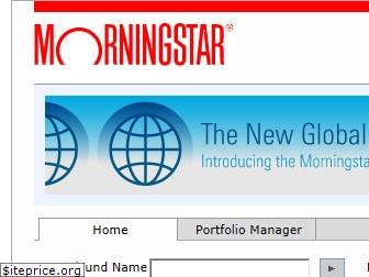 my.morningstar.com
