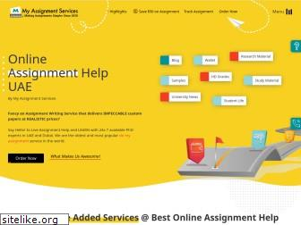 myassignmentservices.ae