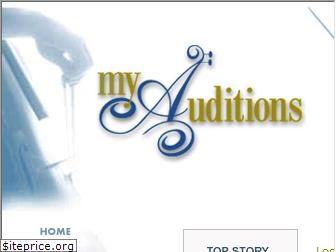 myauditions.org