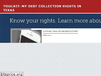 mydebtcollectionrights.org