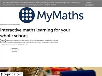 www.mymaths.co.uk website price