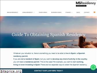 myspanishresidency.com