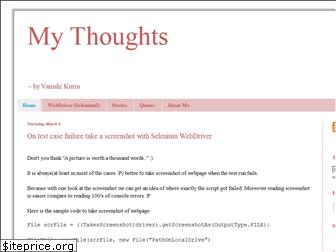 mythoughts.co.in