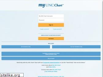 www.myuncchart.org website price