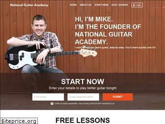 nationalguitaracademy.com