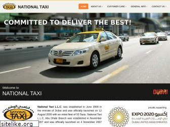 nationaltaxi.ae