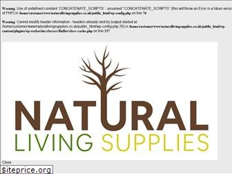 www.naturallivingsupplies.co.uk website price