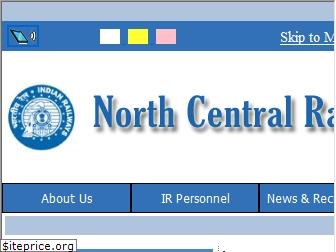www.ncr.indianrailways.gov.in website price