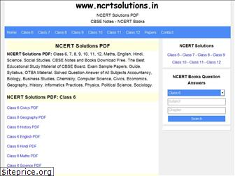 ncrtsolutions.in