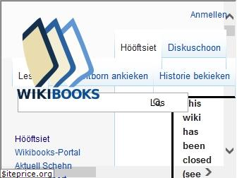 nds.wikibooks.org