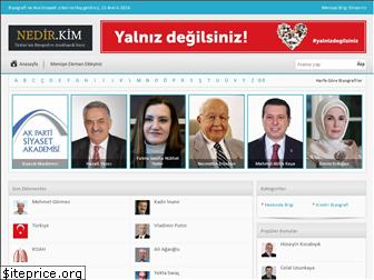 www.nedir.kim website price