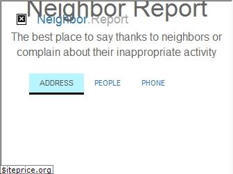 neighbor.report
