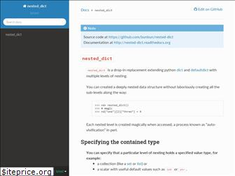 nested-dict.readthedocs.io