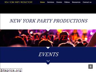 newyorkpartyproductions.com