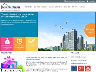 www.nhachinhchu.com.vn website price