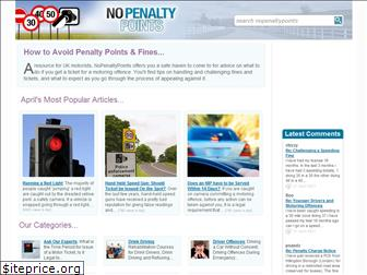 nopenaltypoints.co.uk
