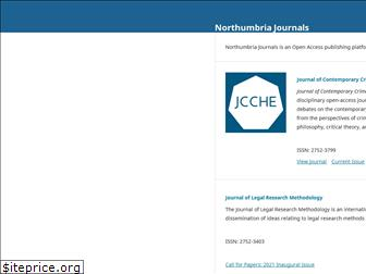 northumbriajournals.co.uk