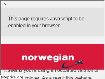 norwegian.com