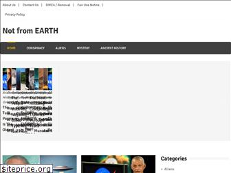 notfromearth.org