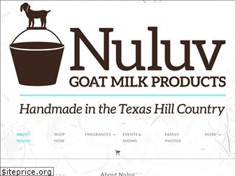 nuluvgoatmilkproducts.com