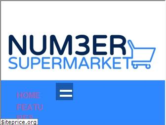 numbersupermarket.co.uk