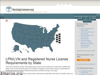 nursinglicensure.org