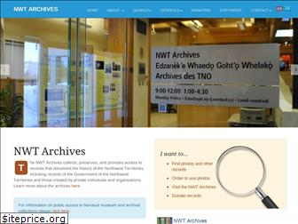 nwtarchives.ca