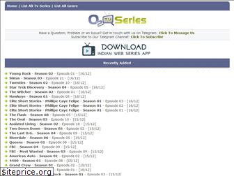 o2tvseries com website worth, domain value and website traffic