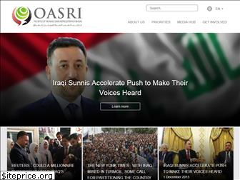 www.oasri.org website price