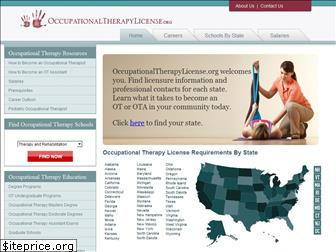 occupationaltherapylicense.org