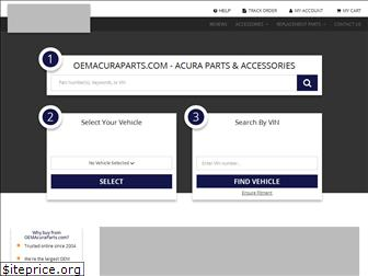oemacuraparts.com