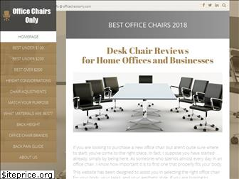 officechairsonly.com