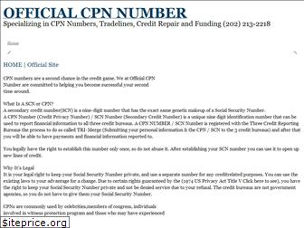officialcpnnumber.com