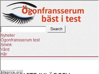 www.ogonfransserumbastitest.se website price