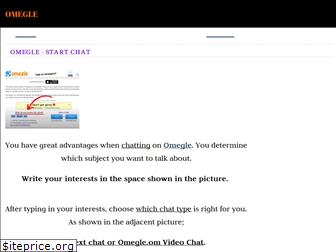 Like omegle with interests sites Best 16+