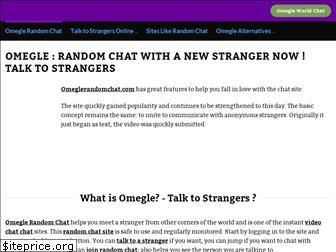 Chat random omegle text like 10 Chat