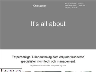 oneagency.se