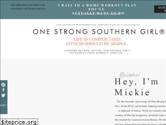 onestrongsoutherngirl.com