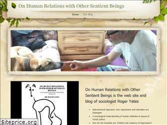onhumanrelationswithothersentientbeings.weebly.com