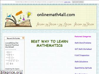 onlinemath4all.com