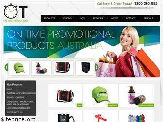 ontimepromotionalproducts.com.au