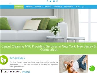 ontimesteamcleaning.com