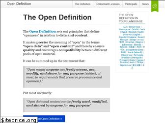 opendefinition.org