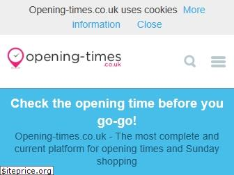 opening-times.co.uk