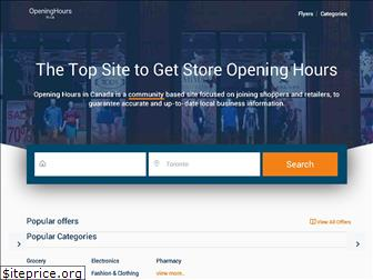 openinghours.ca