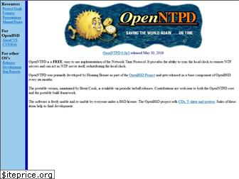 openntpd.org