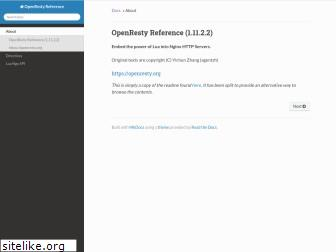 openresty-reference.readthedocs.io