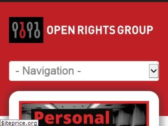 openrightsgroup.org